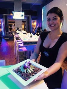 blu waitress