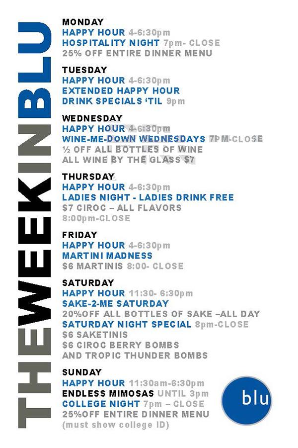 The Week in Blu